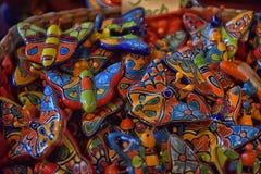 цветастая гончарня Стоковая Фотография RF
