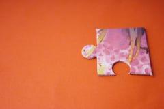 цветастая головоломка Стоковое Изображение