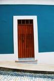 цветастая дверь Стоковые Фотографии RF