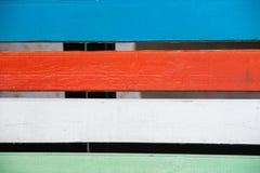 Цветастая деревянная текстура Стоковое фото RF