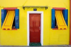 цветастая дом Стоковая Фотография
