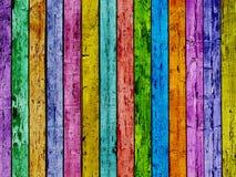 цветастая загородка Стоковое Изображение