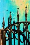 Цветастая загородка Стоковая Фотография RF