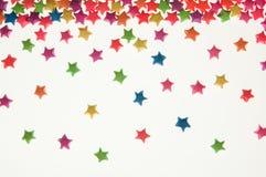 цветастая звезда вида scatter Стоковые Фотографии RF