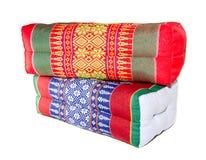 Цветастая изолированная подушка Стоковые Фотографии RF
