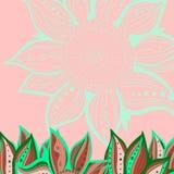 цветастая картина цветка безшовная Стоковая Фотография RF
