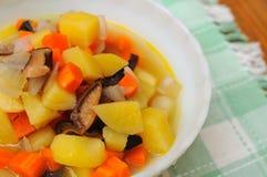 цветастая картошка деликатности стоковая фотография rf