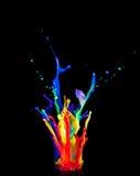 цветастая компановка стоковое изображение rf