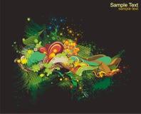 цветастая конструкция свежая Стоковые Фото