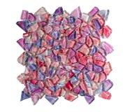 цветастая кристаллическая стена плитки Стоковые Изображения RF