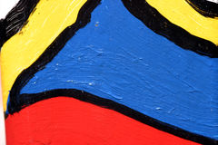 цветастая надпись на стенах Стоковое Изображение