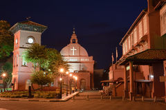 цветастая ноча malacca Стоковое Изображение RF