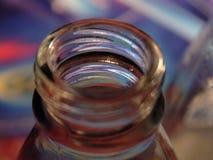 Цветастая открытая бутылка Стоковые Изображения