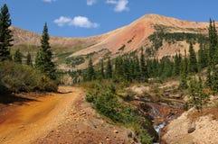 Цветастая долина горы Стоковая Фотография