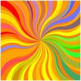 Цветастая предпосылка взрыва нашивки (вектор) бесплатная иллюстрация