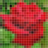 Цветастая предпосылка мозаики EPS10 Стоковая Фотография
