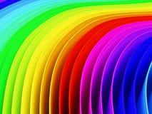 Цветастая предпосылка цвета радуги Стоковые Изображения