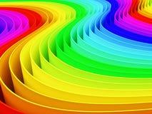 Цветастая предпосылка цвета радуги Стоковое Изображение RF