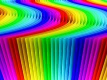 Цветастая предпосылка цвета радуги Стоковая Фотография