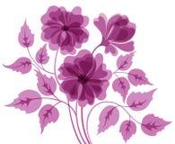 Цветастая предпосылка цветка Стоковое Изображение RF