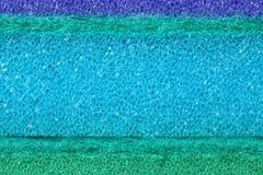 Цветастая предпосылка губки пены целлюлозы текстуры Стоковые Изображения RF
