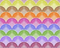 цветастая предпосылка кругов Стоковое Фото