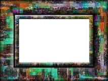 цветастая причудливая рамка Стоковая Фотография