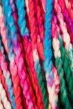 цветастая пряжа Стоковое Фото