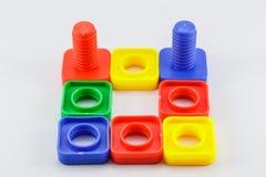 цветастая пластичная игрушка Стоковая Фотография