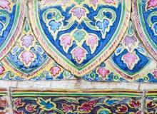цветастая плитка цветка Стоковая Фотография