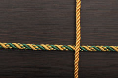 Цветастая рамка веревочки Стоковое фото RF