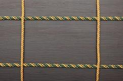 Цветастая рамка веревочки Стоковое Фото