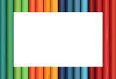 цветастая рамка Стоковое Изображение