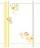 цветастая рамка Стоковая Фотография