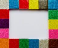цветастая рамка Стоковое Изображение RF