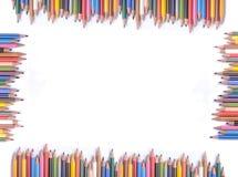 цветастая рамка Стоковые Изображения RF