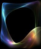 цветастая рамка Стоковое Фото