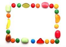 цветастая рамка Стоковая Фотография RF