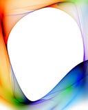 цветастая рамка Стоковые Фото
