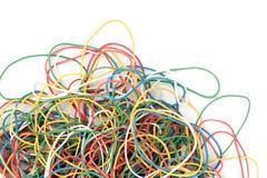 цветастая резина кучи эластиков Стоковое Фото