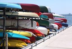цветастая рента kayaks Стоковое фото RF