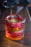 Цветастая свеча чая Стоковые Фото