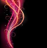 цветастая свирль тесемки Стоковое фото RF