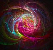 цветастая свирль иллюстрация вектора