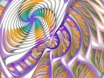 цветастая свирль Стоковые Изображения
