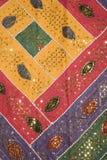 цветастая сделанная по образцу ткань Стоковое фото RF