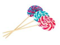 цветастая спираль lollipop стоковое фото rf
