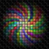 цветастая спираль Стоковое Изображение RF
