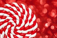 цветастая спираль lollipop Стоковое Изображение