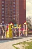 цветастая спортивная площадка оборудования Стоковые Фото